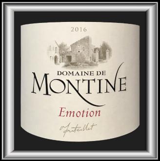 Emotion 2016 le vin du Domaine de Montine pour notre blog sur le vin