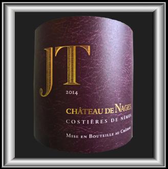 JT 2014 le vin du Chateau de Nages pour notre blog sur le vin