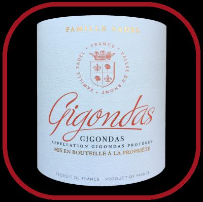 Gigondas 2015 le vin de la famille Sadel pour notre blog sur le vin