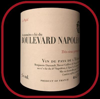 Boulevard Napoléon Carignan Benjamin Darnault 2012, le vin By Jeff Carrel pour notre blog sur le vin