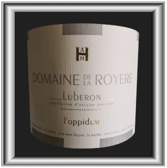 L'Oppidum 2016, le vin du domaine de la Royère pour notre blog sur le vin