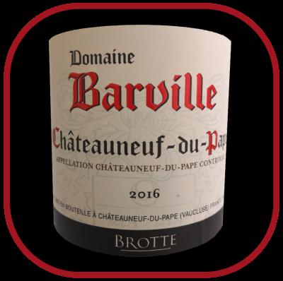 Domaine Barville 2014, le vin de la maison Brotte pour notre blog sur le vin