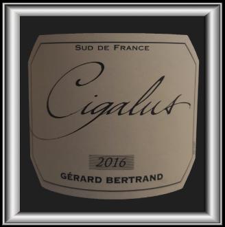 Cigalus 2016 rouge, le vin de Gérard Bertrand pour notre blog sur le vin