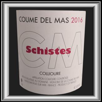 Schistes 2016, le vin du domaine Coume del Mas pour notre blog sur le vin
