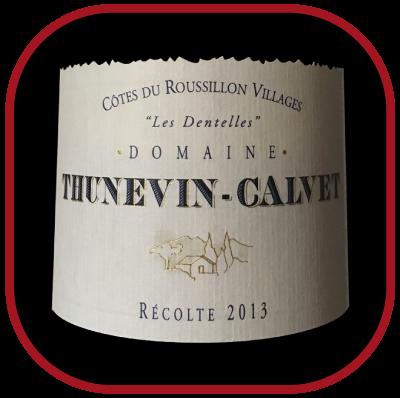 Les Dentelles 2013, le vin du domaine Thunevin Calvet pour notre blog sur le vin