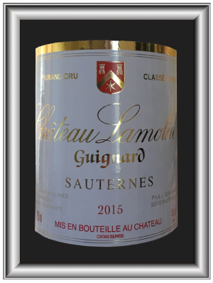 Sauternes 2014, le vin du Chateau Lamothe Guignard pour notre blog sur le vin