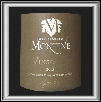 Vinsobre 2015, le vin du domaine Montine pour notre blog sur le vin