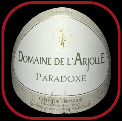 Paradoxe, le vin du Domaine de l'Arjolle pour notre blog sur le vin