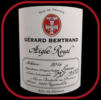 Aigle Royal 2016 le vin de Gérard Bertand pour notre blog sur le vin