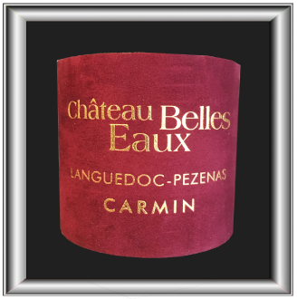 Carmin 2016, le vin du Château Belles Eaux pour notre blog sur le vin.