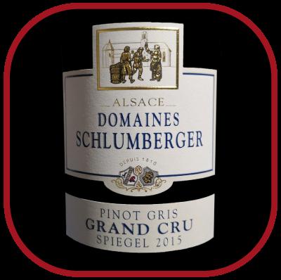 Grand cru Spiegel 2015, le vin des domaines Schlumberger pour notre blog sur le vin