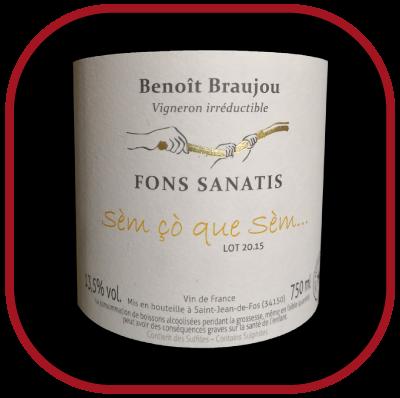Sèm ço que sèm... 2015, le vin du domaine Fons Sanatis pour notre blog sur le vin