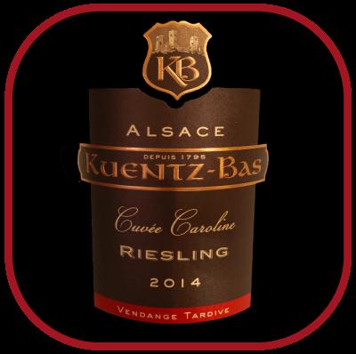 Cuvée Caroline 2014, le vin du domaine Kuentz-Bas pour notre blog sur le vin