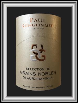 Sélection Grains Nobles 2015 du domaine Paul Ginglinger pour notre blog sur le vin