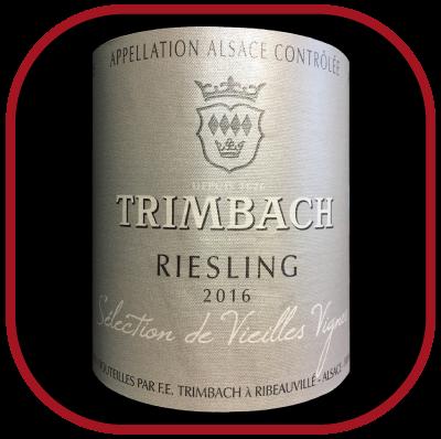 Sélection vieilles vignes 2016 du domaine Trimbach pour notre blog sur le vin