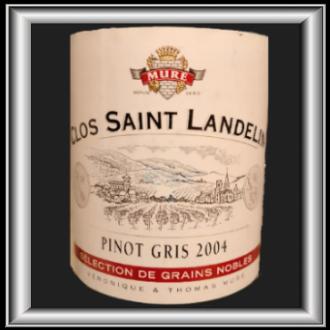 Clos St-Landelin 2004, le vin du domaine Muré pour notre blog sur le vin