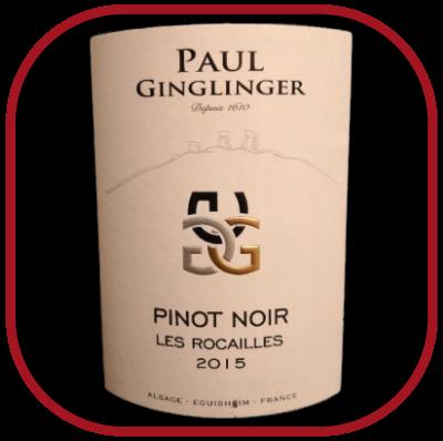 Les Rocailles 2015, le vin du domaine Paul Ginglinger pour notre blog sur le vin
