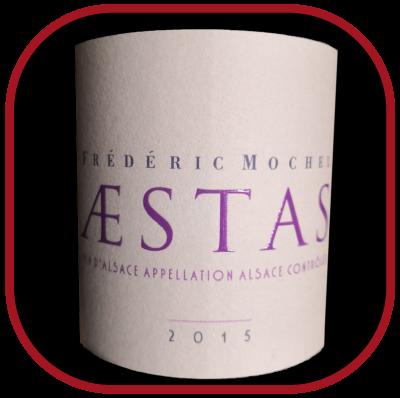 Aestas 2015 le vin du domaine Frédéric Mochel pour notre blog sur le vin