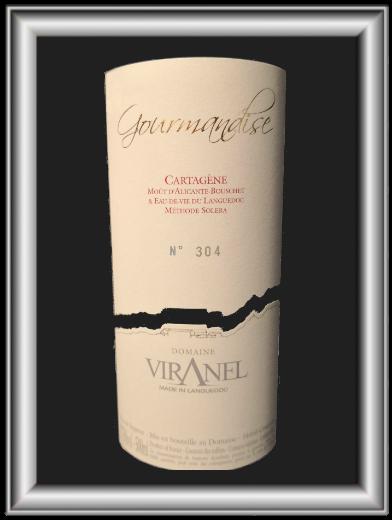 Cartagène gourmandise, le vin du domaine Viranel pour notre blog sur le vin