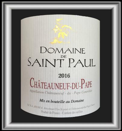 Jumille 2016, le vin du domaine St Paul pour notre blog sur le vin