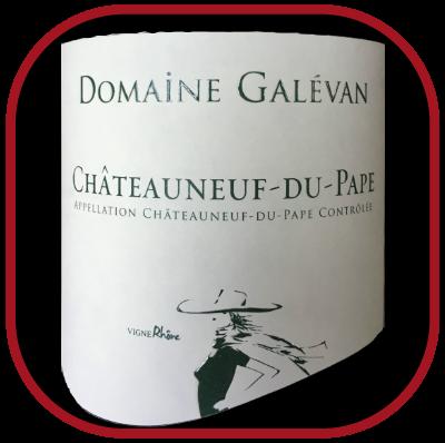 Châteauneuf-du-Pape Blanc, le vin du Domaine Galevan pour notre blog sur le vin