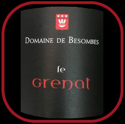 Le Grenat 2015, le vin du domaine de Besombes pour notre blog sur le vin