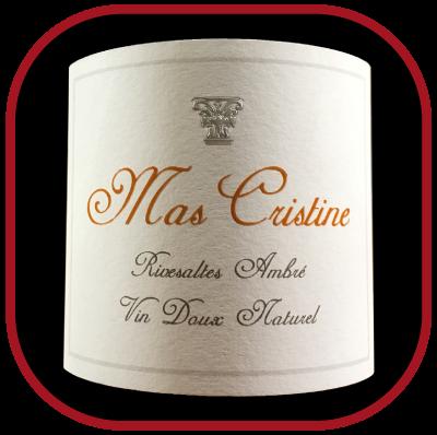 Rivesalte ambré, le vin du Mas Cristine pour notre blog pour le vin