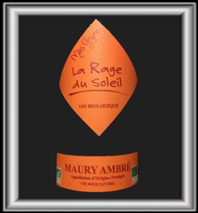 La Rage du Soleil, le vin de dessert du Mas Peyre pour notre blog sur le vin