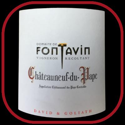 David et Goliath 2016, le vin du domaine Fontavin pour notre blog sur le vin
