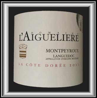 La Côte Dorée 2013, le vin du Domaine l'Aiguelière pour notre blog sur le vin