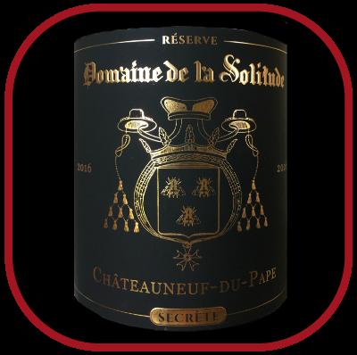 Réserve Secrète 2016, le vin du domaine de la Solitude pour notre blog sur le vin