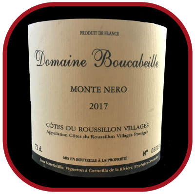 Monte Nero 2017, le vin du domaine Boucabeille pour notre blog sur le vin