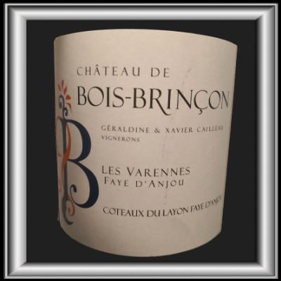 Les Varennes 2018, le vin du Chateau de Bois-Brinçon pour notre blog sur le vin
