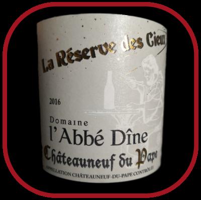 La réservce des Cieux 2016, le vin du domaine de l'Abbé Dîne pour notre blog sur le vin