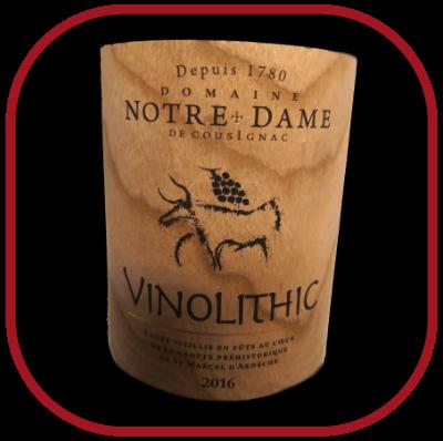 Vinolithic 2016, le vin du domaine Notre Dame de Cousignac pour notre blog sur le vin