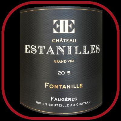 Fontanille 2015 le vin du château des Estanilles pour notre blog sur le vin