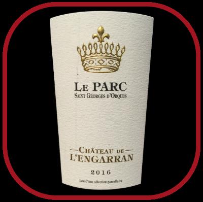 Le Parc 2016, le vin du château de l'Engarran pour notre blog sur le vin