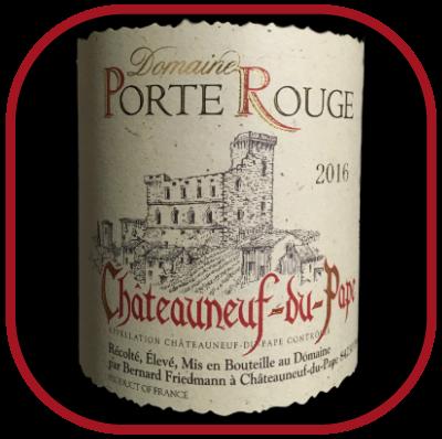 Chateauneuf-du-Pape 2016, le vin du domaine de la Porte Rouge pour notre blog sur le vin