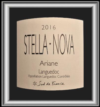 Ariane 2016, le vin du domaine Stella Nova pour notre blog sur le vin