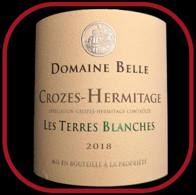 Les Terres Blanches 2018, le vin du domaine Belle pour notre blog sur le vin
