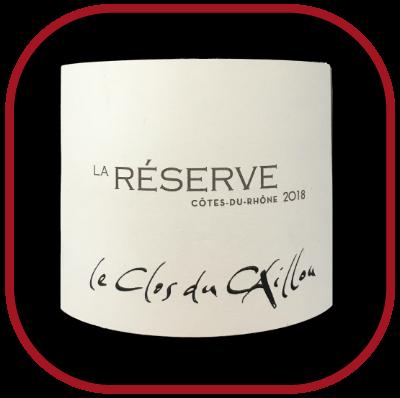 La Réserve 2018, le vin du domaine Le Clos du caillou pour notre blog sur le vin
