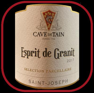 Saint-Joseph, Esprit de Granit 2017, le vin de la Cave de Tain pour notre blog sur le vin