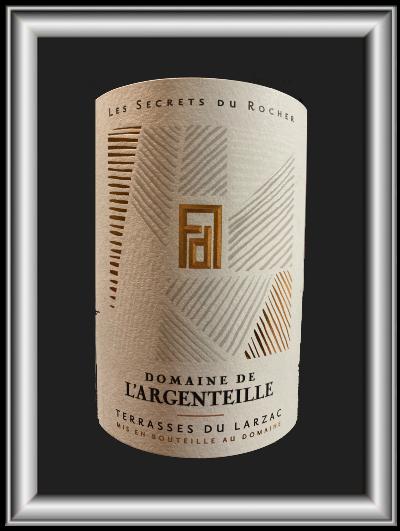 Les secrets du rocher 2017, le vin du domaine de l'Argenteille pour notre blog sur le vin