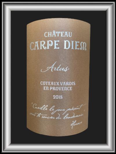 Artus 2018, le vin du Château Carpe Diem pour notre blog sur le vin