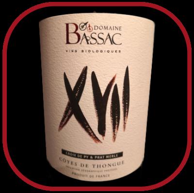 XVII, la cuvée du domaine Bssac pour notre blog sur le vin