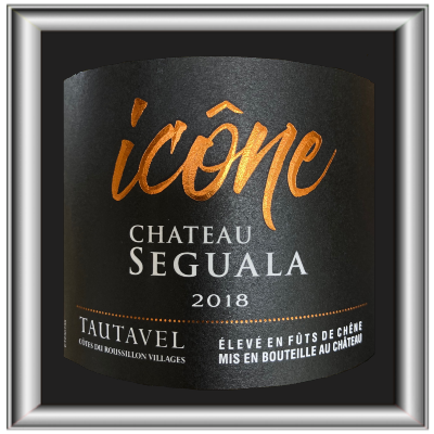 Icône 2018, le vin du Chateau Seguala pour notre blog sur le vin
