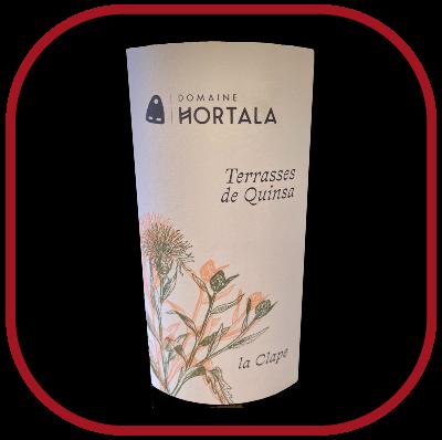Terrasses de Quinsa 2018, le vin du domaine Hortala pour notre blog pour le vin