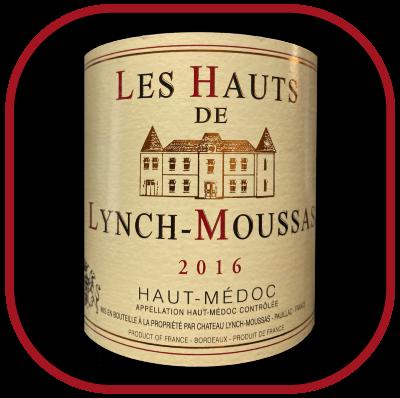 Les Hauts de Lynch Moussas 2016, le vin du Chateau Lynch Moussas pour notre blog sur le vin