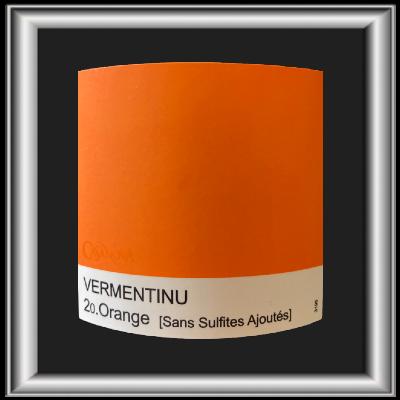 20 Orange, le vin du domaine Casanova pour notre blog sur le vin